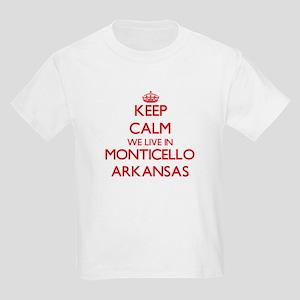Keep calm we live in Monticello Arkansas T-Shirt