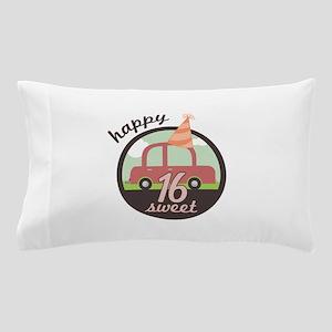 Happy Sixteen Pillow Case