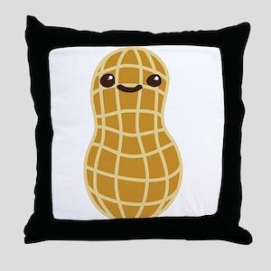 Cute Peanut Throw Pillow