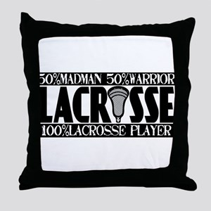 Lacrosse 100 Percent Throw Pillow
