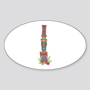 TIKI TOTEM Sticker