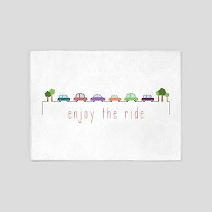 Enjoy The Ride 5'x7'Area Rug