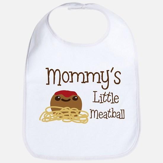 Mommy's Little Meatball Bib