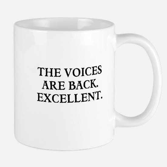 THE VOICES ARE BACK. EXCELLENT Mugs