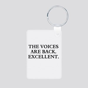 THE VOICES ARE BACK. EXCELLENT Keychains
