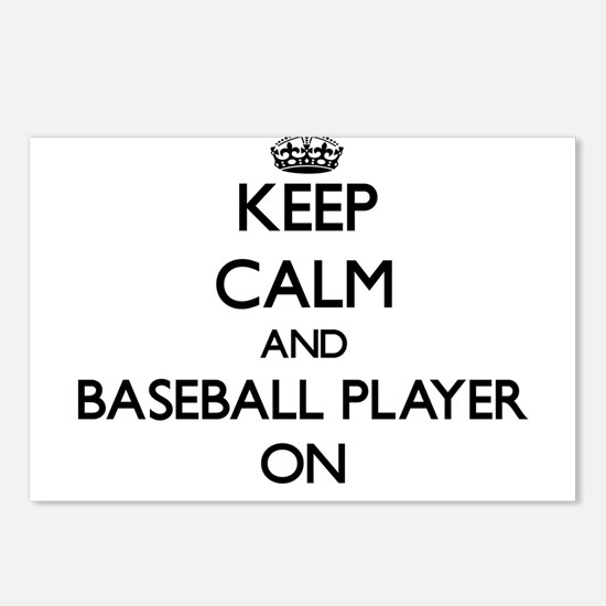 Keep Calm and Baseball Pl Postcards (Package of 8)