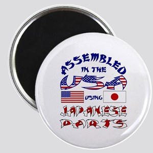 USA/Japanese Parts Magnet