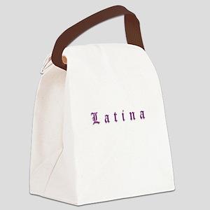 latina Canvas Lunch Bag