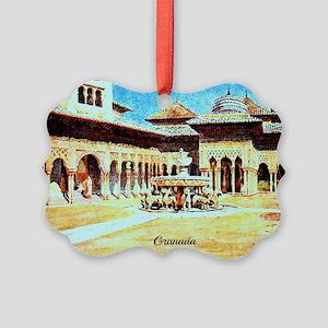 GRANADA Picture Ornament