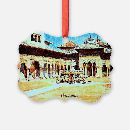 GRANADA Ornament
