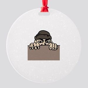 CRIMINAL ACTIVITY Ornament