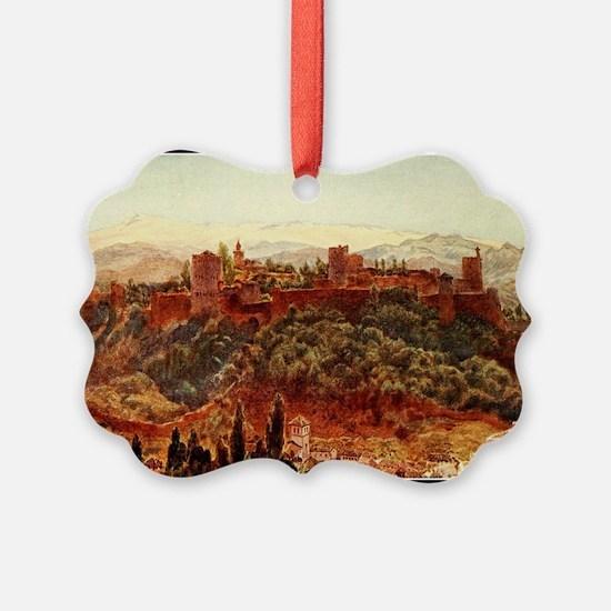GRANADA ALHAMBRA Ornament