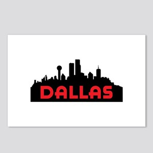 DALLAS TX SKYLINE Postcards (Package of 8)