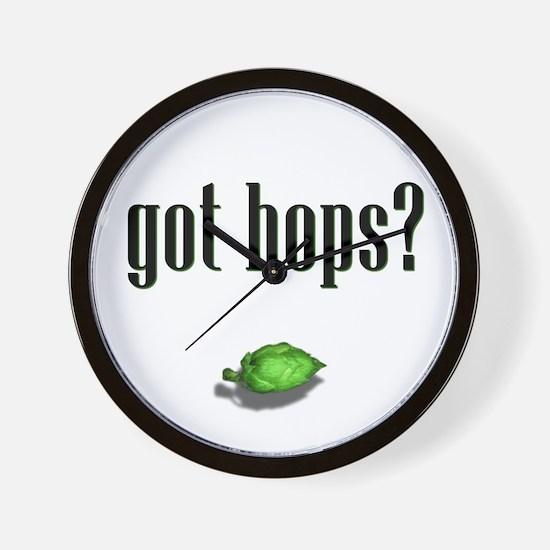 got hops? Wall Clock