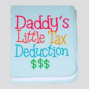 Daddy's Little Tax Deduction baby blanket