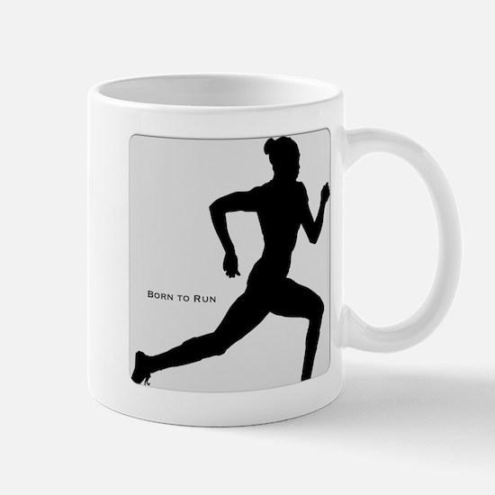 Cute Born to run Mug