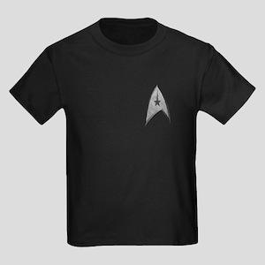 STARTREK TOS CMD STONE Kids Dark T-Shirt