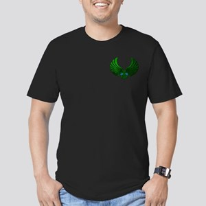 STARTREK ROMULAN STONE Men's Fitted T-Shirt (dark)