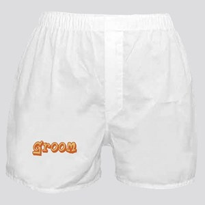 Graffiti Groom Boxer Shorts