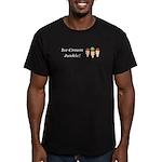 Ice Cream Junkie Men's Fitted T-Shirt (dark)