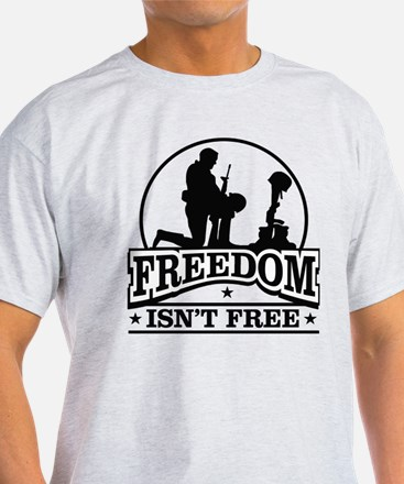 Fallen Soldier Freedom Isn't Free T-Shirt