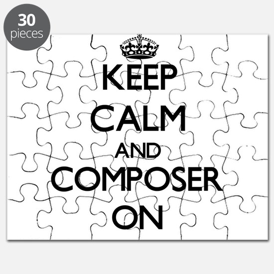 Keep Calm and Composer ON Puzzle