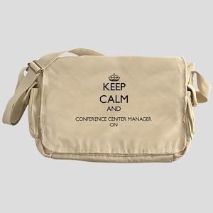 Keep Calm and Conference Center Mana Messenger Bag