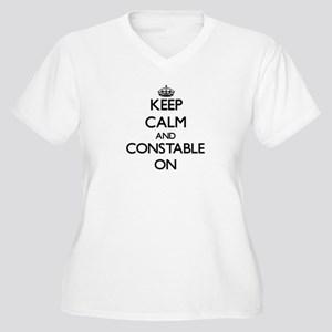 Keep Calm and Constable ON Plus Size T-Shirt