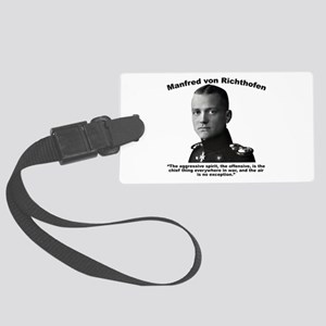 Richthofen: Aggressive Large Luggage Tag