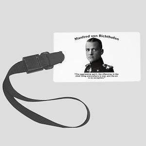 Richthofen: Aggressive Large Luggage Tag