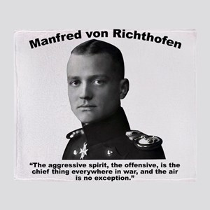 Richthofen: Aggressive Throw Blanket