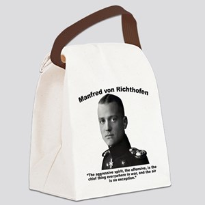Richthofen: Aggressive Canvas Lunch Bag