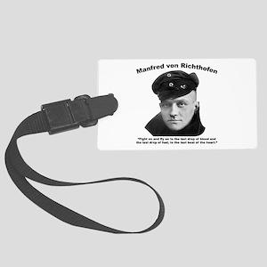 Richthofen: Fight Large Luggage Tag