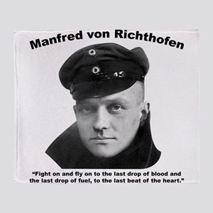 Richthofen: Fight Throw Blanket