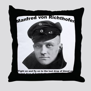 Richthofen: Fight Throw Pillow