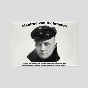 Richthofen: Fight Rectangle Magnet