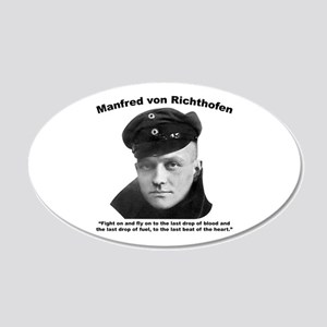 Richthofen: Fight 20x12 Oval Wall Decal