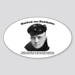 Richthofen: Fight Sticker (Oval)