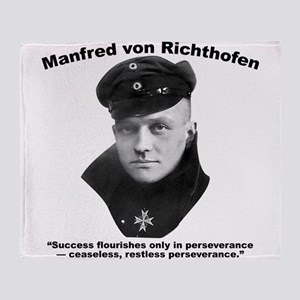 Richthofen: Success Throw Blanket