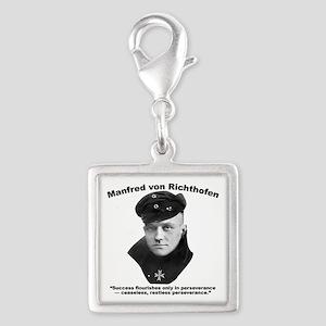 Richthofen: Success Silver Square Charm