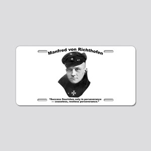 Richthofen: Success Aluminum License Plate
