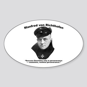 Richthofen: Success Sticker (Oval)