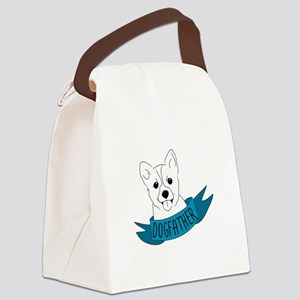 Dogfather Canvas Lunch Bag