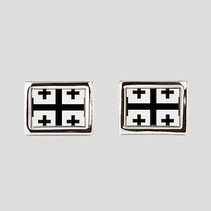 Crusader cross Rectangular Cufflinks