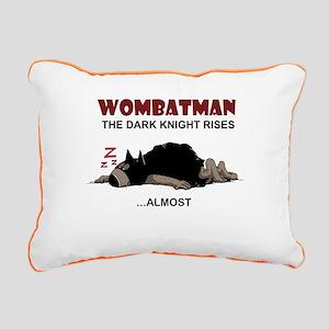 Wombatman Rectangular Canvas Pillow