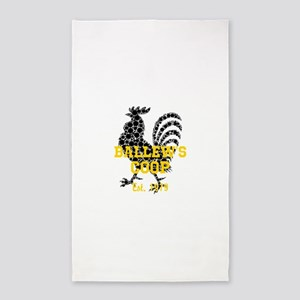 Rooster Personalize Area Rug