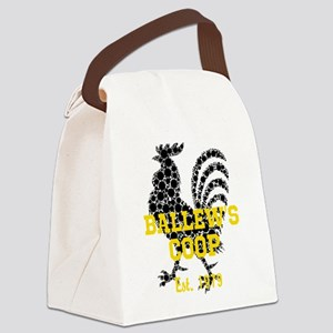 Rooster Personalize Canvas Lunch Bag