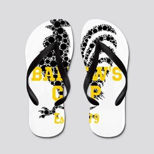 Rooster Personalize Flip Flops