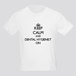 Keep Calm and Dental Hygienist ON T-Shirt