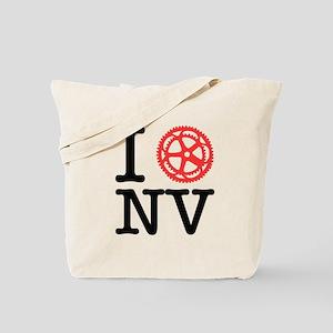 I Bike NV Tote Bag